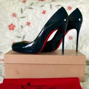 Christian Louboutin Shoes - Christian Louboutin,, navy blue,   ITALY 39